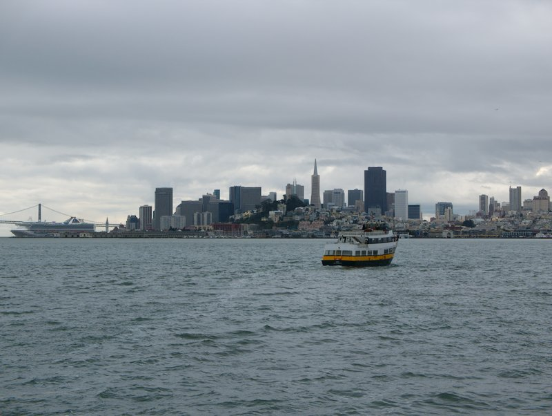 The view from Alcatraz