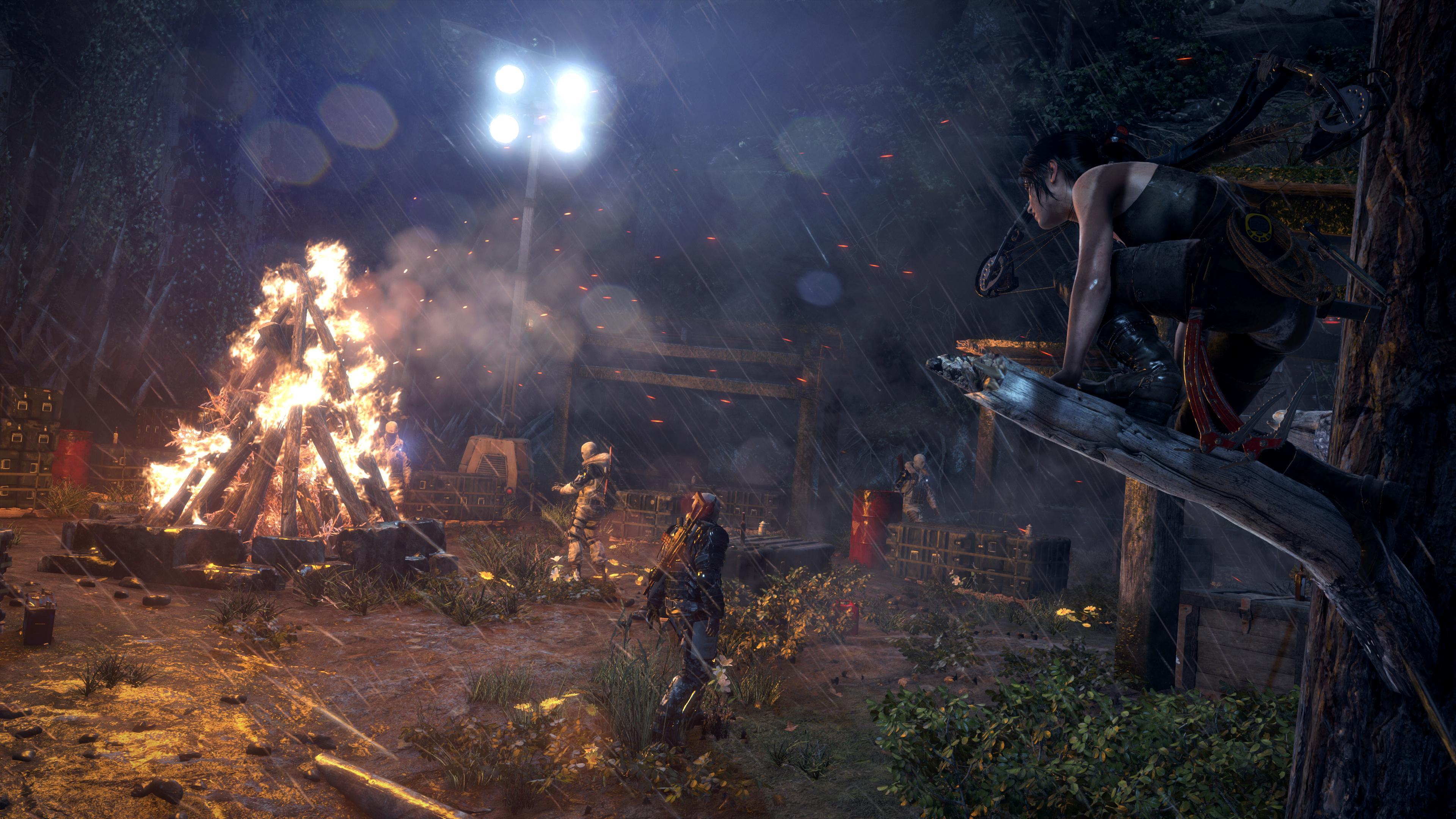 Lara hunting