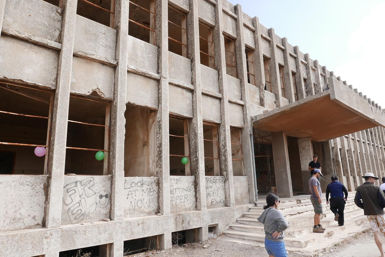 Abandoned Syrian hospital
