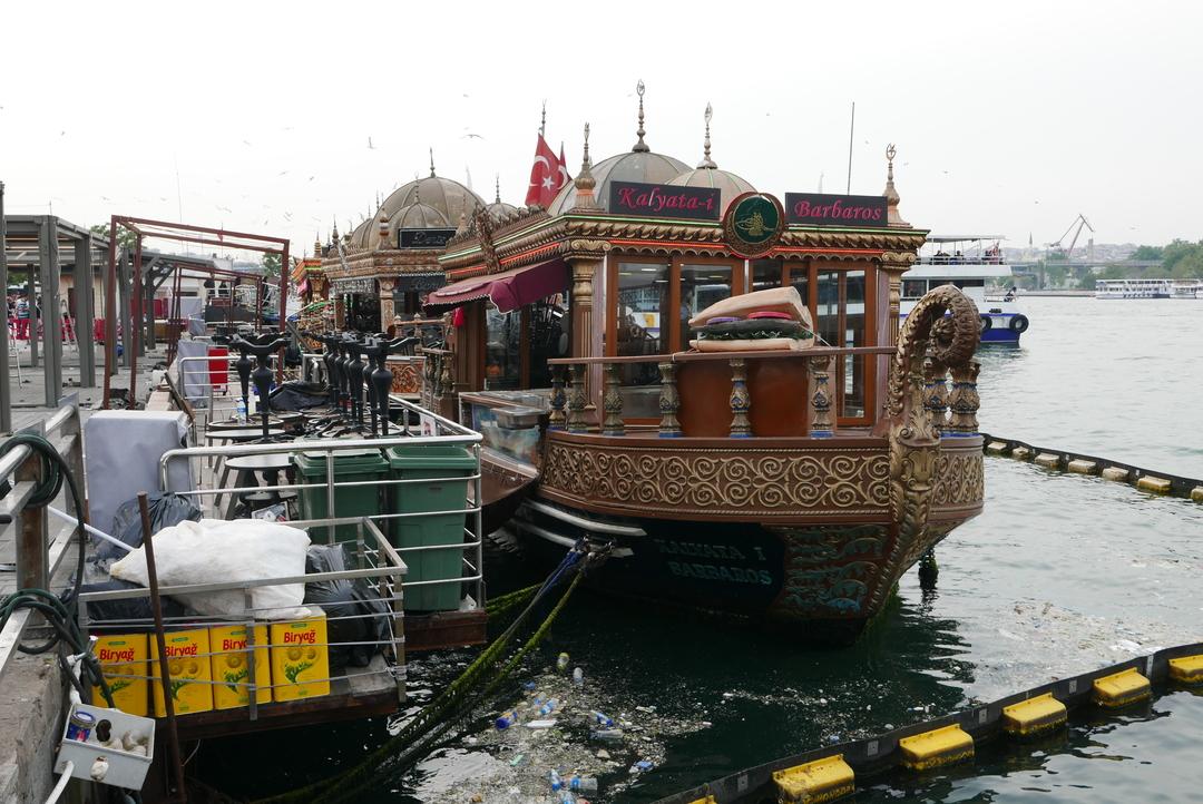 Boat on the Golden Horn
