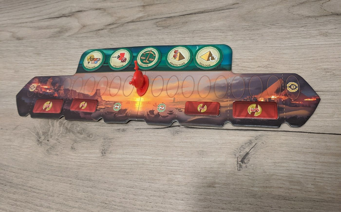 Boardgames Miniparty: 7 Wonders Duel