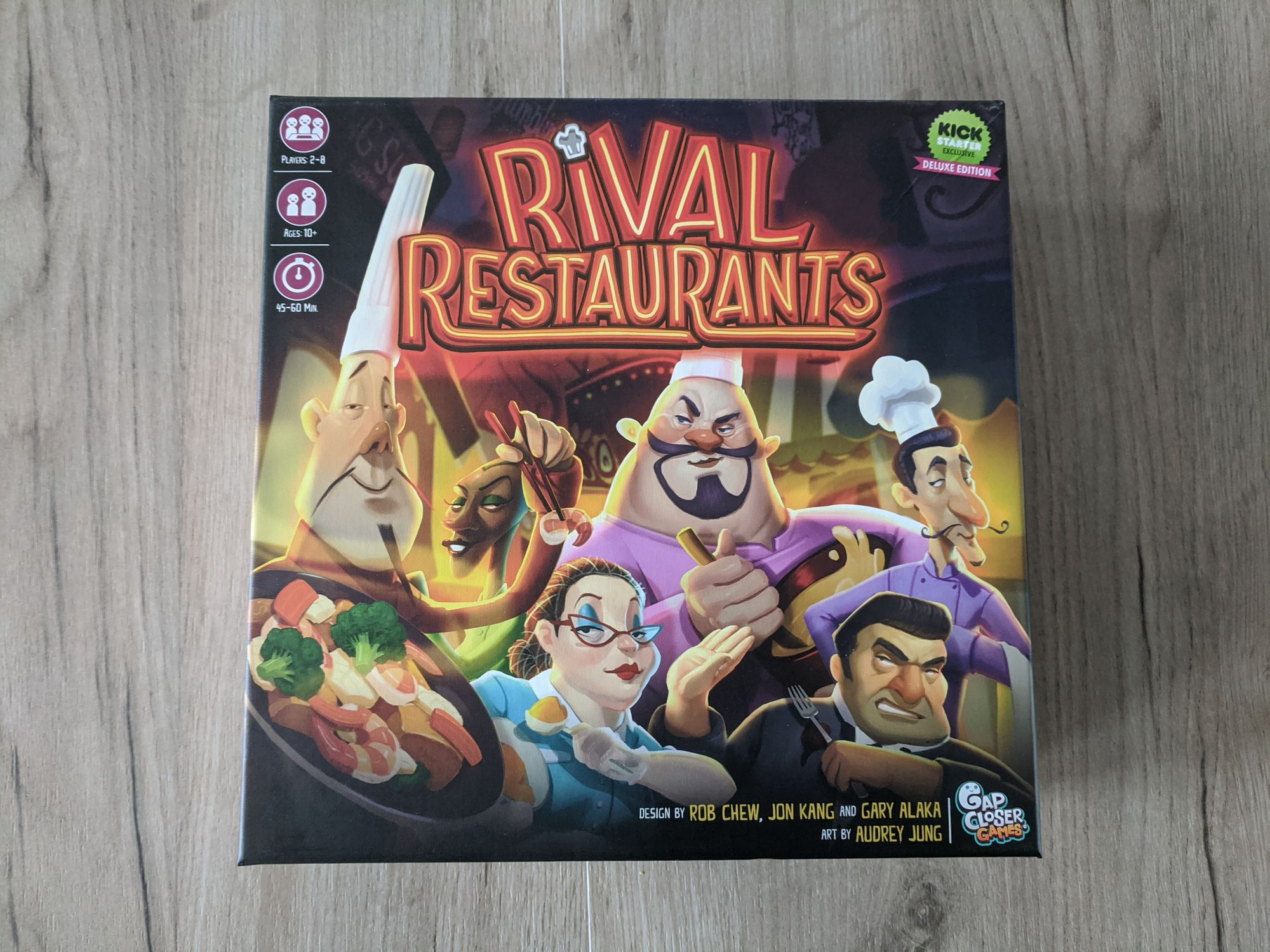 Boardgames Party: Rival Restaurants